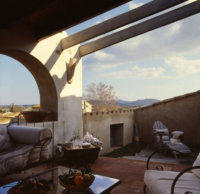Terraza casa Font Clara