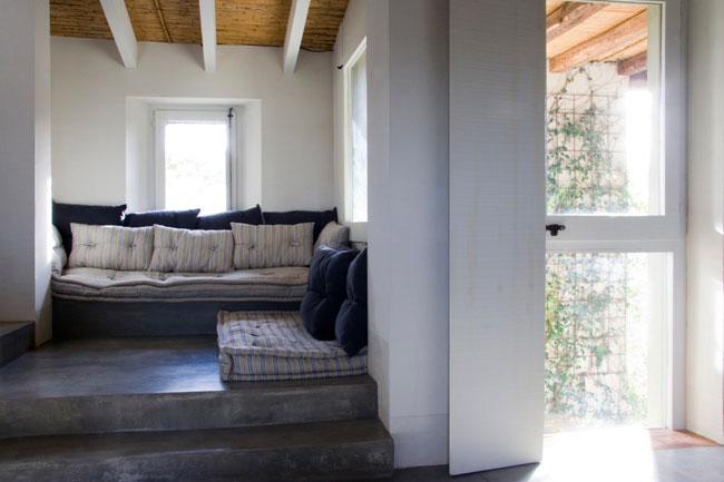 Sala de estar casa Matajudaica