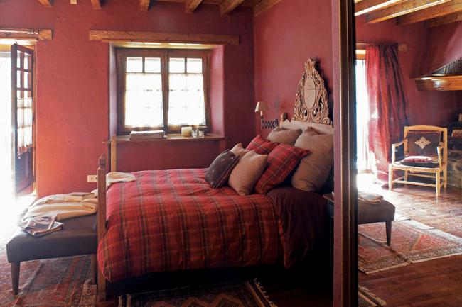 Dormitorio casa Vall d