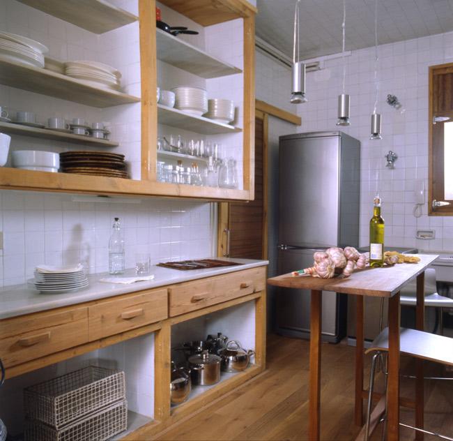 Detalle Cocina piso Sarriá