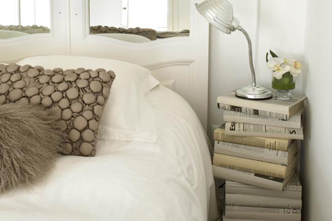 Detalles dormitorio piso en Galvany